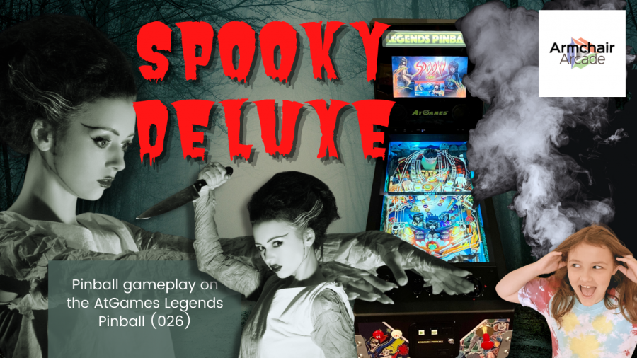 Gameplay video for Spooky Deluxe (Zaccaria) on the AtGames Legends Pinball (026)