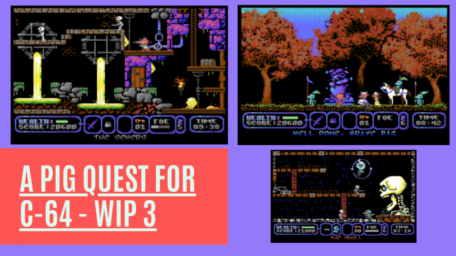 A Pig Quest - Another neo-classic C-64 games is getting closer to release!