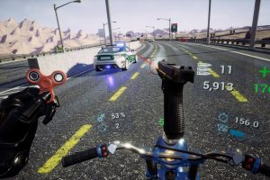 HTC Vive/VIVEPORT VR Review: Bike Rush
