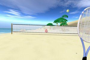 HTC Vive/VIVEPORT VR Review: Blobby Tennis