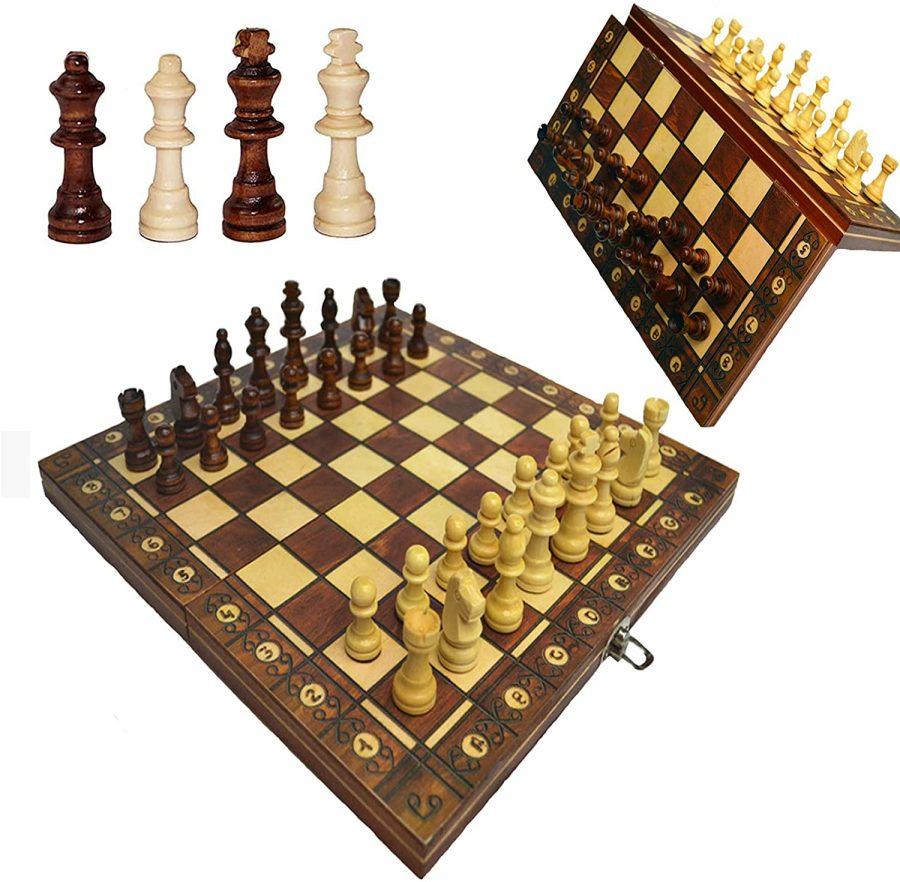 Review: Kisluk Xinliye 3-in-1 Folding Magnetic Chess, Checkers, Backgammon