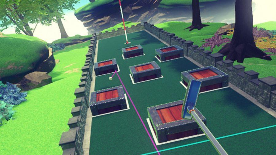 HTC Vive/VIVEPORT VR Review –Cloudlands: VR Minigolf