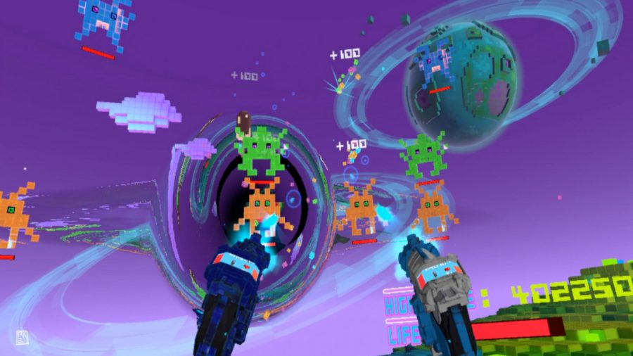 HTC Vive/VIVEPORT VR Review:Cosmic-Attack VR. Blast from the past.