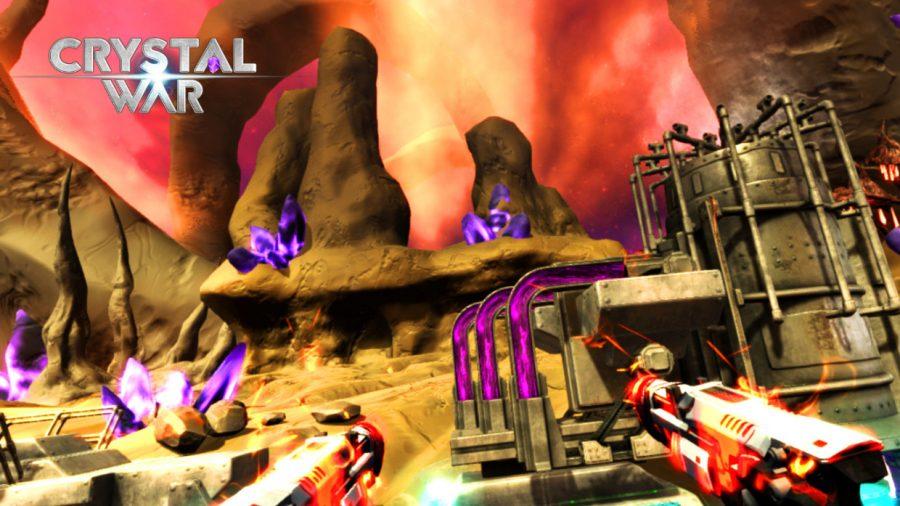 HTC Vive/VIVEPORT VR Review:Crystal War