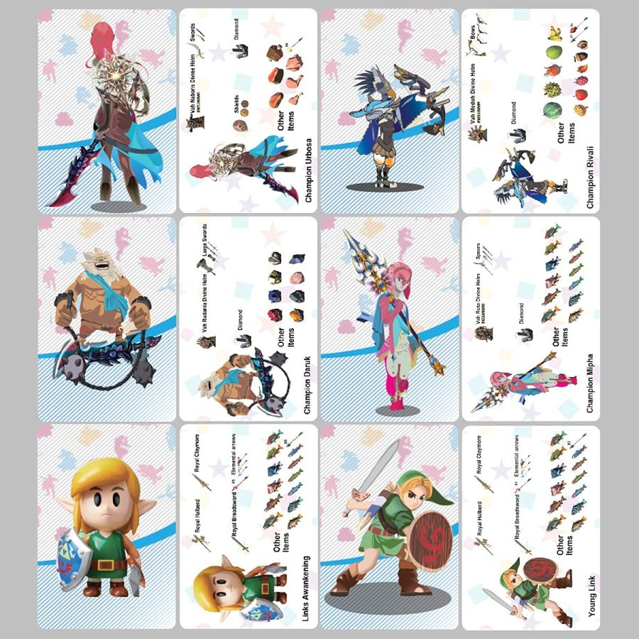 Review: SSHEMO NFC Amiibo Tags for Zelda (24 pcs)