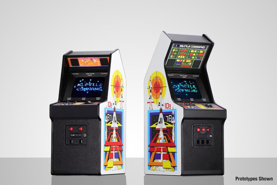 Missile Command X RepliCade mini arcade cabinet by New Wave now available for pre-order