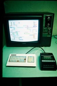 The original Commodore Vic-20 Prototype. [Photo credit: John Feagan]