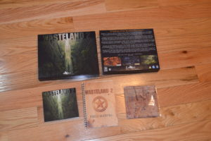 The Wasteland 2 Kickstarter boxed edition received!
