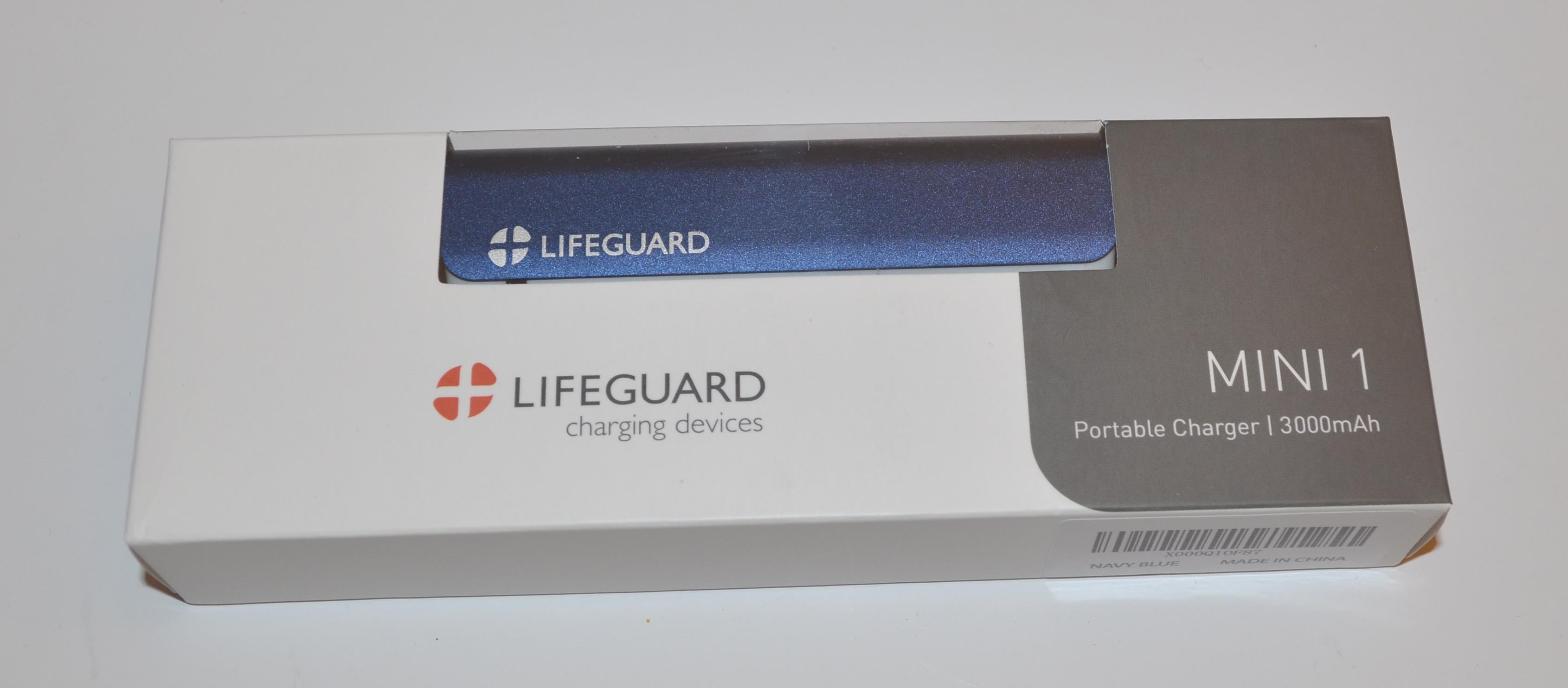 Lifeguard MINI 1 Portable Charger Power Bank Review