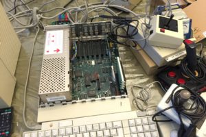 A quick look at utilizing Apple IIGS upgrades (photos and video)