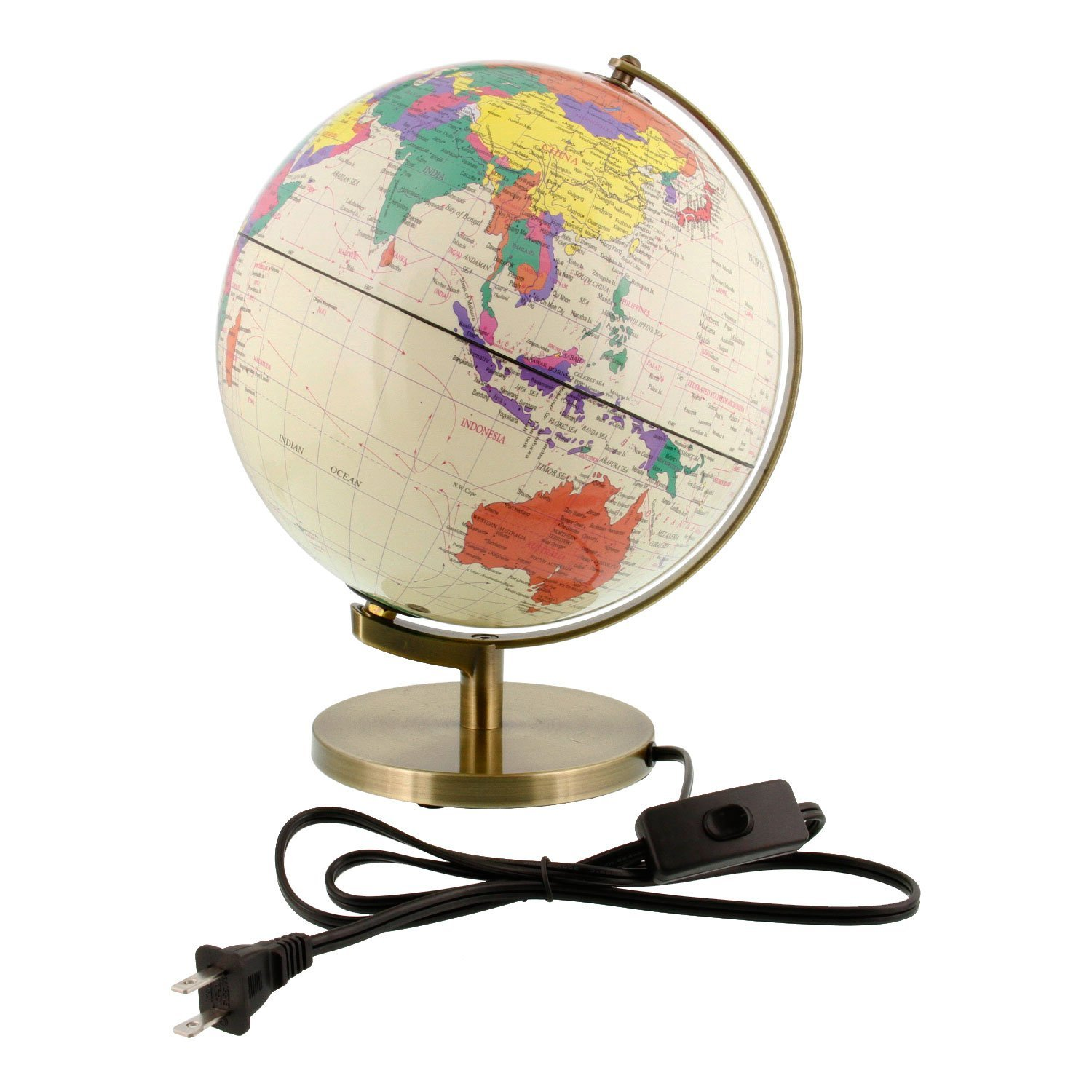 Review: Illuminated Desktop Earth Globe