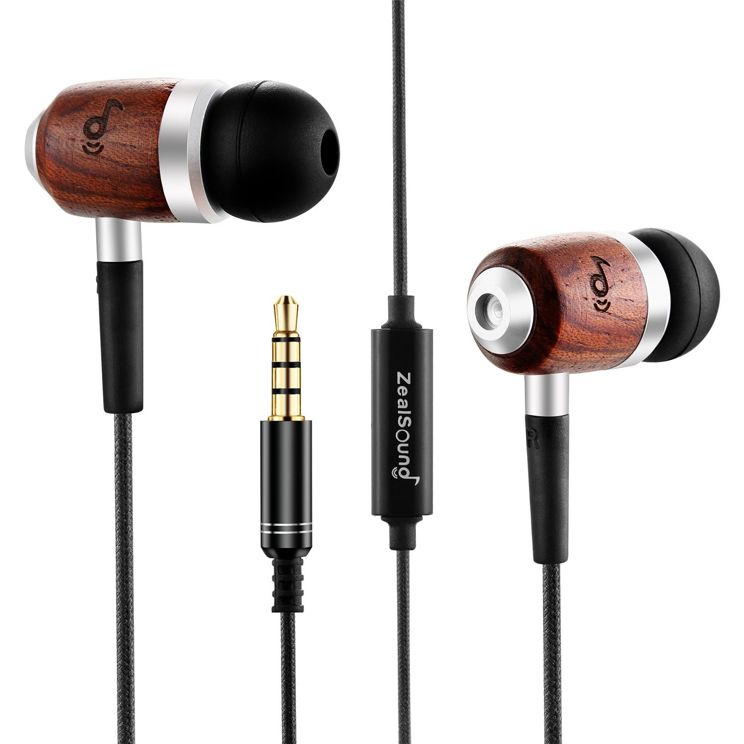 Review: ZealSound HDE-300 In-ear Noise-isolating Wood Headphones