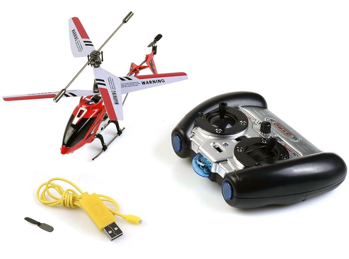 Review: Safeplus S107G 3 Channel Infrared Remote Control Helicopter (includes video)
