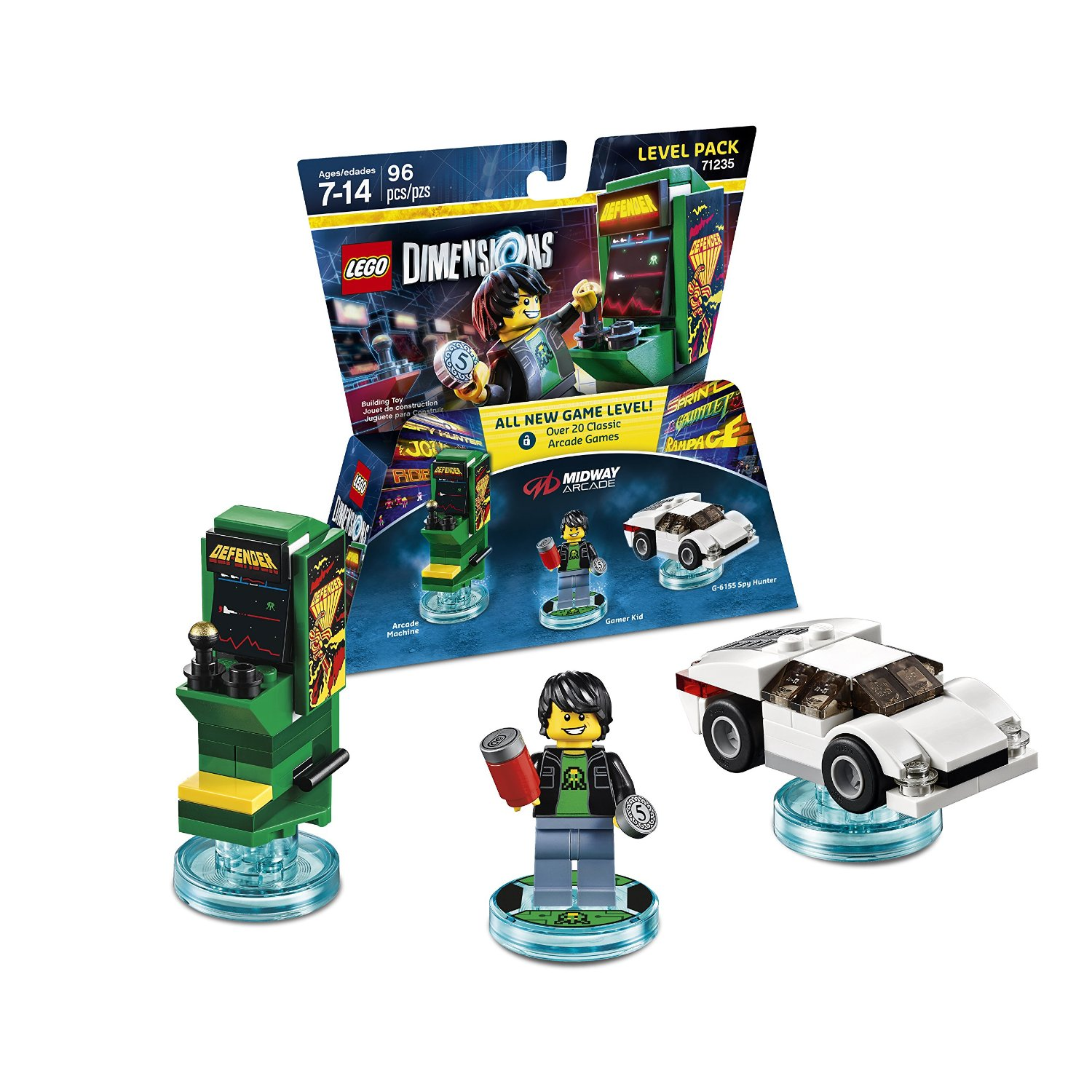 First Impressions: Midway Arcade for Lego Dimensions (23 classic arcade games)