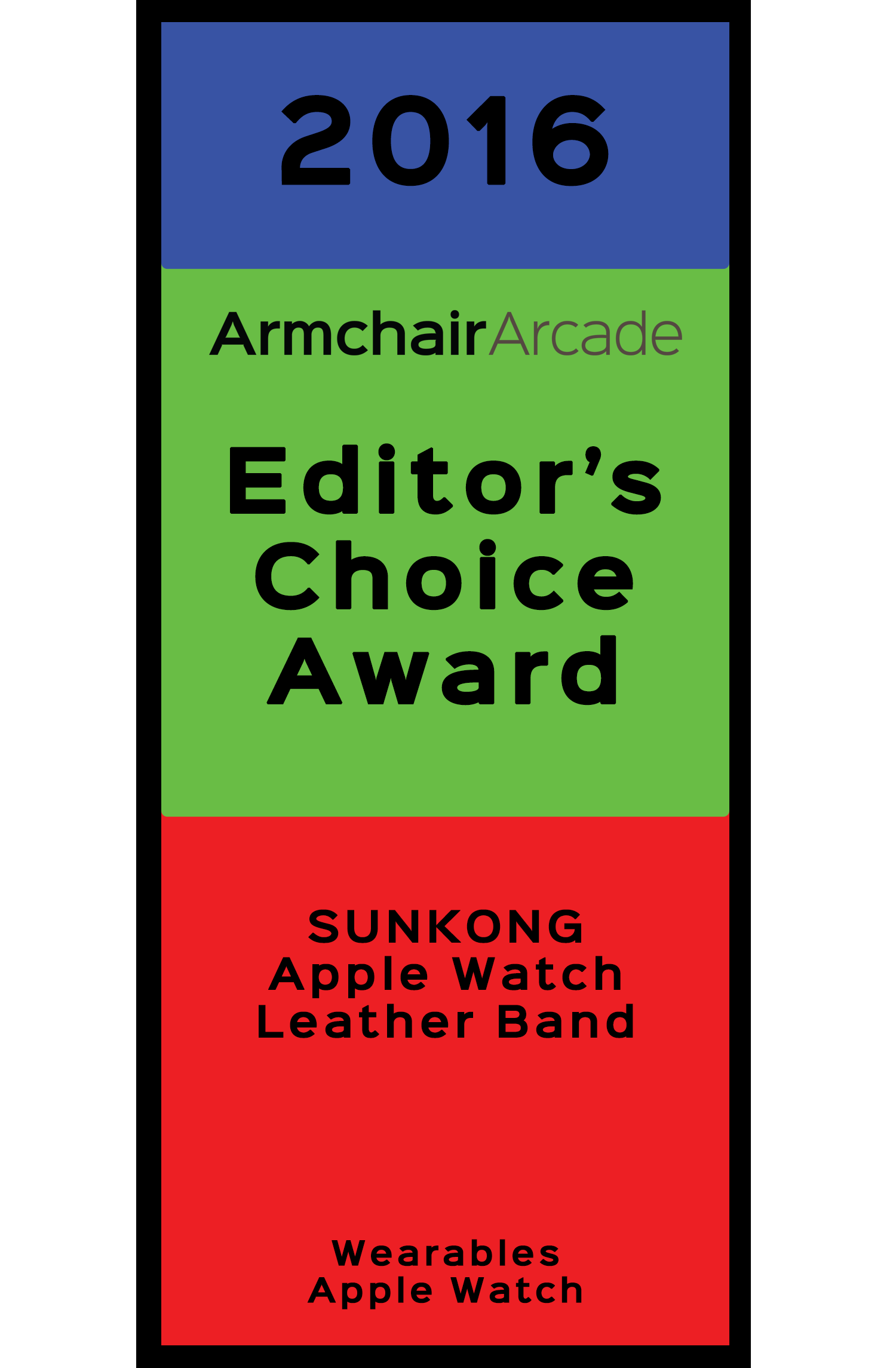 Armchair Arcade Editor's Choice Award 2016