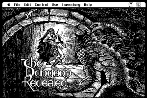Play Classic Monochrome Macintosh Games in Your Browser or Just Look at the Lovely Screenshots