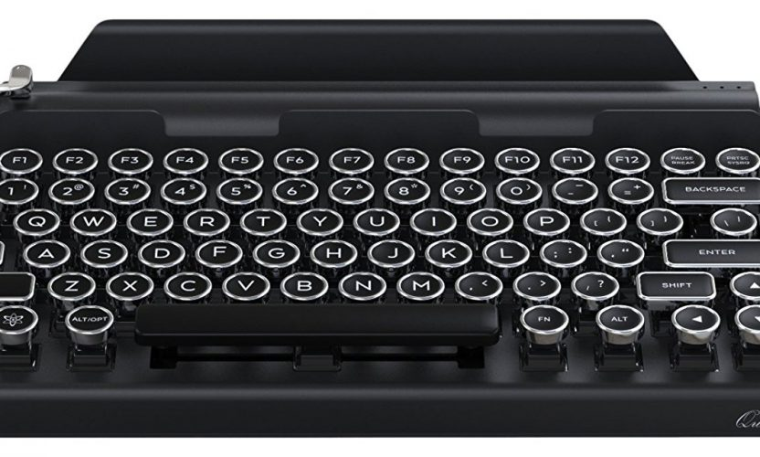 Review: Qwerkywriter Bluetooth Typewriter Keyboard
