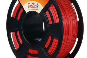 Review: Tactink Red PLA 1.75mm 3D Printer Filament