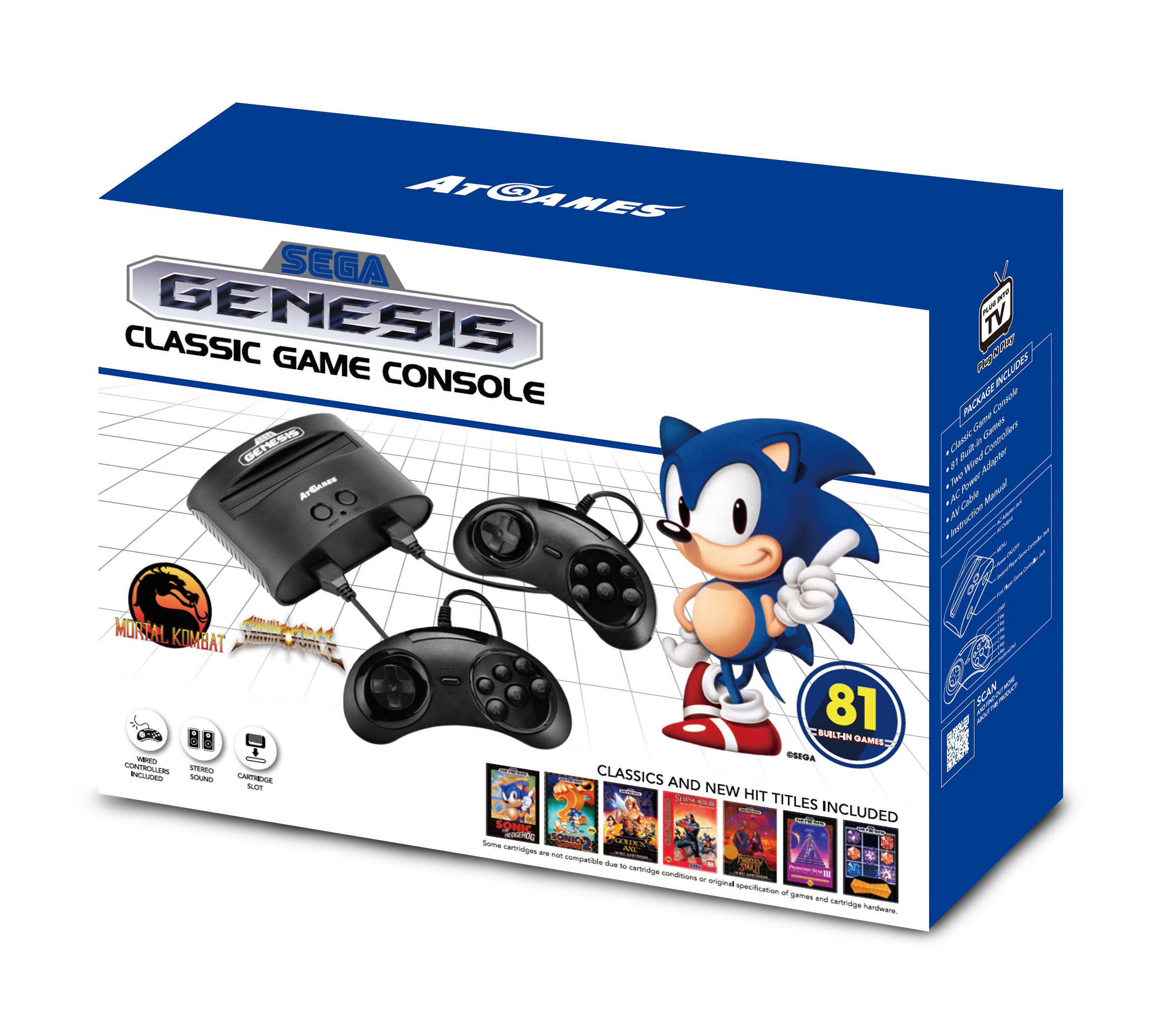 Sega genesis classic game console 2017 the official - Sega genesis classic game console games ...