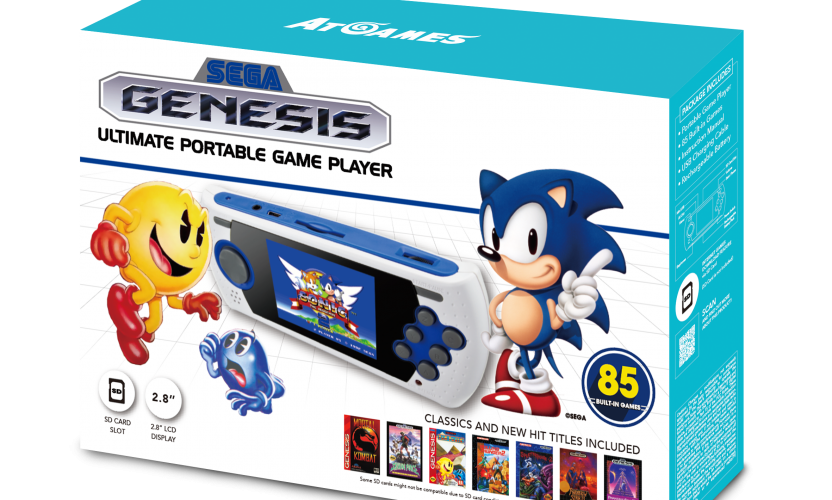 Sega Genesis Ultimate Portable Game Player (2017): The Official Game List