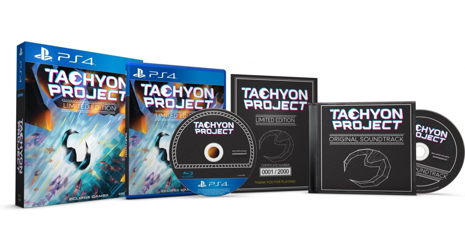 Tachyon Project Limited Edition – Exclusive bundle for PS4 and Vita available for pre-order!