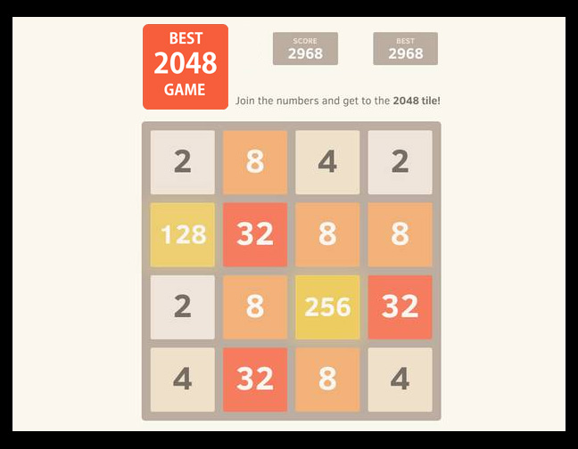 2048 Math Puzzle Game. Source: Flickr.com