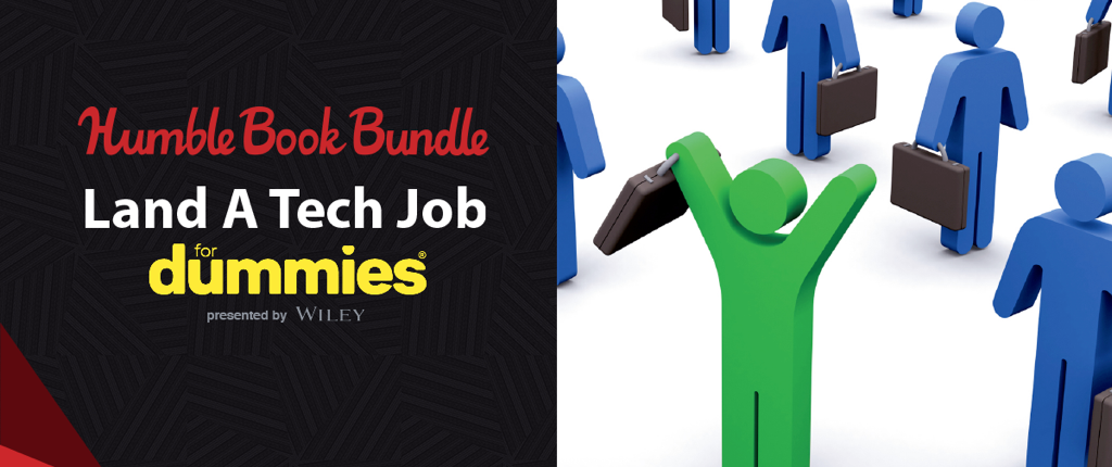 Pay what you want for For Dummies landing a tech job books!