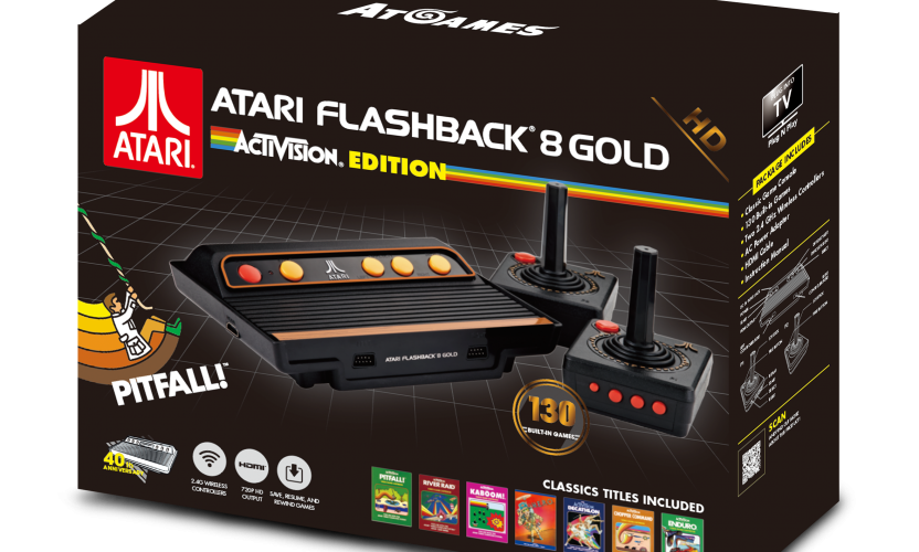 Atari Flashback 8 Gold Activision Edition 2017 The