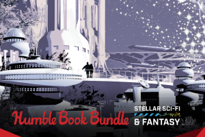 Pay what you want for a Stellar Sci-Fi & Fantasy book bundle!
