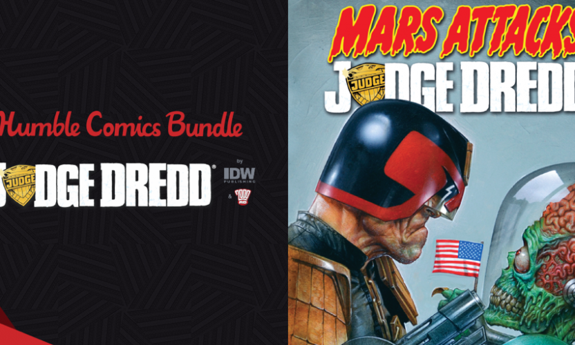 Pay what you want for The Humble Comics Bundle: Judge Dredd by IDW & 2000AD