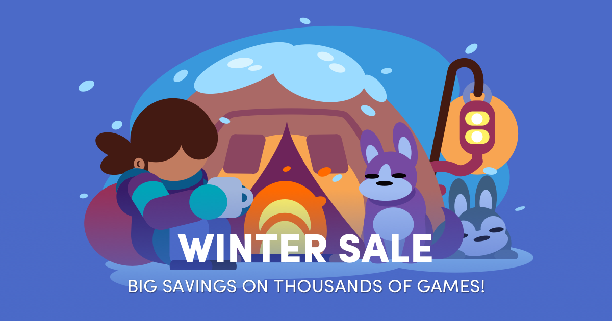 The big Steam Winter Sale is LIVE in the Humble Store!