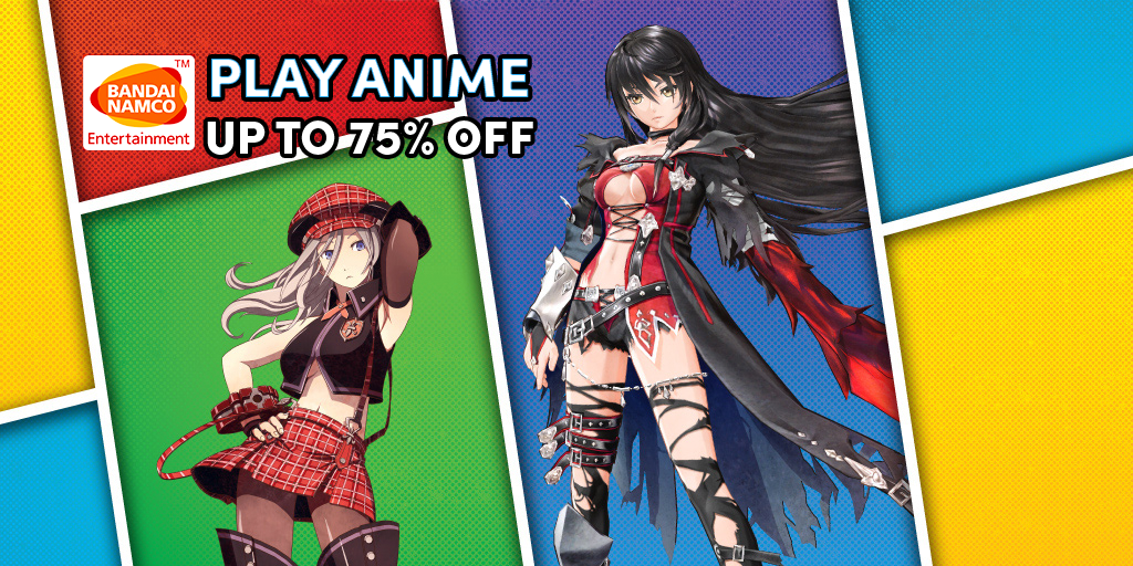 The BANDAI NAMCO Anime Sale is now live!