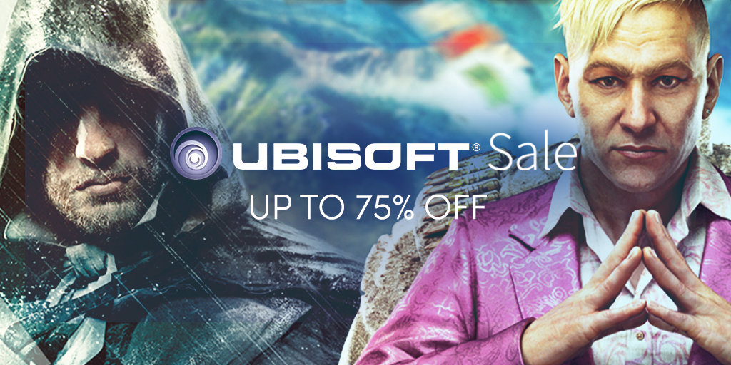 The Ubisoft Sale is Live – Great PC Games!
