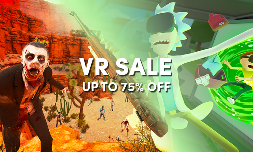 The VR Sale is LIVE in the Humble Store!