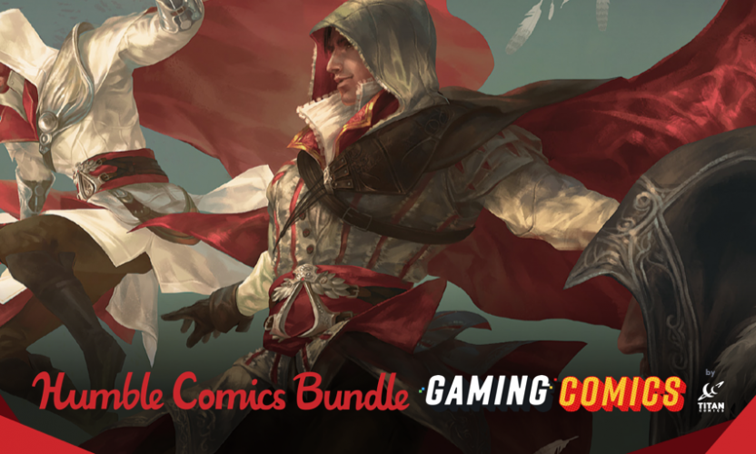Pay what you want for The Humble Book Bundle: Gaming Comics by Titan (Assassin's Creed, Warhammer, Dark Souls, etc.)