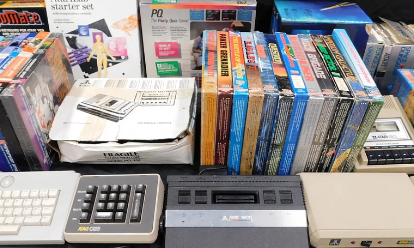 Final details for the massive private vintage and modern videogame and computer auction set for May 31, 2018 in Edison, NJ (online too!)
