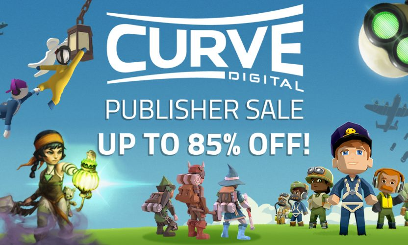 The Curve Digital Publisher Sale is LIVE – Great Steam games like Bomber Crew, Human Fall Flat, and more!