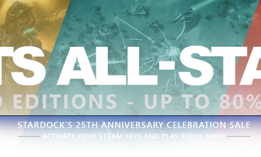 Stardock's biggest sale in 25 years: RTS All-Star Gold Editions – Up to 80% Off Steam games!