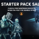 The Starter Pack Sale – Great Steam games, plus get a free Warframe booster!