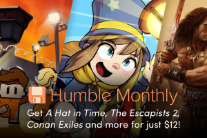 August's Humble Monthly Early Unlock games – A Hat in Time, The Escapists 2, and Conan Exiles