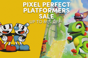 The Pixel Perfect Platformers Sale is live! Yooka-Laylee, Cuphead, Rayman, and more!