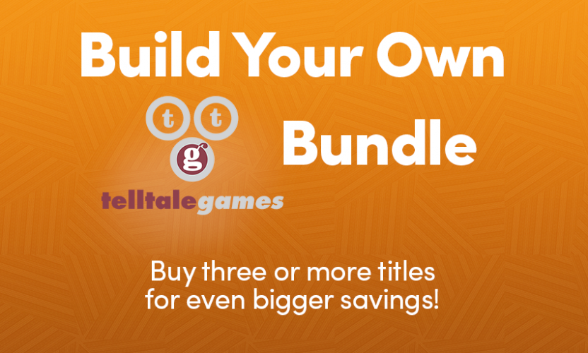 The Telltale Games Build-Your-Own-Bundle is live! Game of Thrones, The Walking Dead, Jurassic Park, and more!